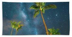 Starry Night Beach Towel by James Roemmling