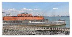 Staten Island Ferry Beach Towel