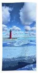 Beach Towel featuring the photograph Steadfast by Phil Koch