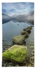 Stepping Stones Beach Towel by Ian Mitchell