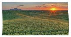 Steptoe Butte Sunset Beach Sheet
