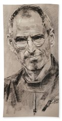 Steve Jobs Beach Towel