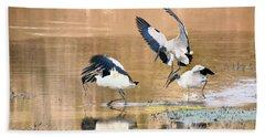 Stork Rugby Beach Towel