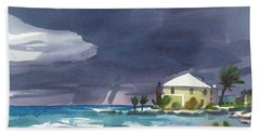 Storm Over Key West Beach Towel