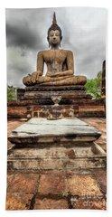Beach Sheet featuring the photograph Sukhothai Historical Park by Adrian Evans