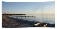 Beach Towel featuring the photograph Summer Evening by Kennerth and Birgitta Kullman