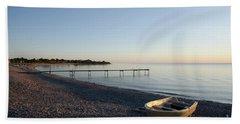 Beach Sheet featuring the photograph Summer Evening by Kennerth and Birgitta Kullman