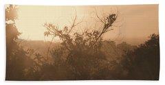 Beach Towel featuring the photograph Summer Fog by Beto Machado