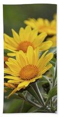 Beach Sheet featuring the photograph Sunflowers  by Saija Lehtonen