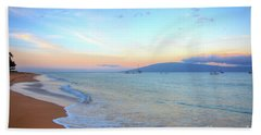 Sunrise On Kaanapali Beach Towel