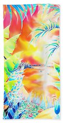 Sunset Cocktail Beach Towel