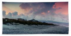 Sunset Emerald Isle Crystal Coast Beach Towel
