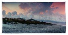 Sunset Emerald Isle Crystal Coast Beach Towel