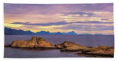Sunset In The North Beach Towel by Maciej Markiewicz