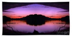 Sunset Kiss Beach Towel by Sue Stefanowicz