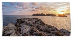 Sunset Malgrats Islands Beach Sheet