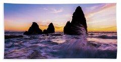 Sunset Splash Beach Sheet