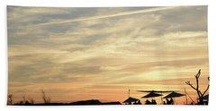 Sunset View Beach Towel