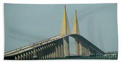 Sunshine Skyway Bridge Beach Sheet