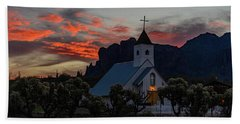 Superstition Sunrise Beach Towel