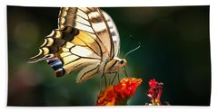 Swallowtail Beach Towel