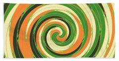 Swirl Beach Towel by Gaspar Avila