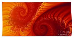 Swirls Two Beach Towel