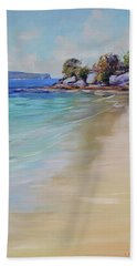 Sydney Harbour Beach Beach Towel
