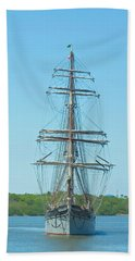 Tall Ship Elissa Beach Sheet