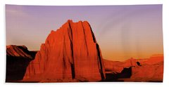 Beach Towel featuring the photograph Temple Of The Sun by Norman Hall