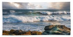 Beach Towel featuring the photograph A Clearing by Robin-Lee Vieira