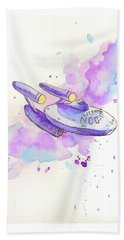 The Enterprise Beach Towel