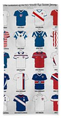 The Evolution Of The Us World Cup Soccer Jersey Beach Towel