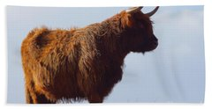The Highland Cow Beach Towel