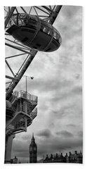 The London Eye Beach Towel by Martin Newman