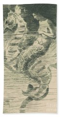 The Mermaid Beach Towel