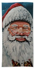 The Real Santa Beach Towel