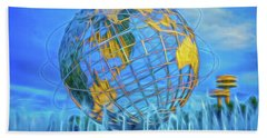 The Unisphere Beach Towel