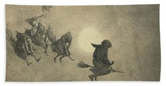The Witches' Ride Beach Towel