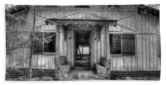Beach Sheet featuring the photograph This Old House by Mike Eingle