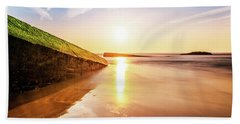 Beach Towel featuring the photograph Touching The Golden Cloud by Thierry Bouriat