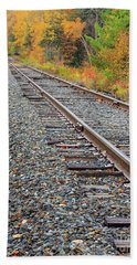 Train Tracks Beach Towel