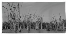 Beach Sheet featuring the photograph Tree Cemetery by Douglas Barnard