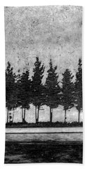 Tree Road Beach Sheet