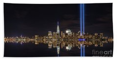 Tribute In Light Reflections  Beach Towel