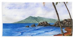 Beach Towel featuring the painting Tropical Dream by Darice Machel McGuire