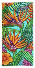 Tropical Gems Beach Towel