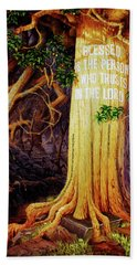 Trust In The Lord Beach Towel