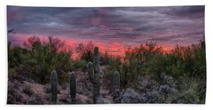 Tucson Sunset Beach Towel