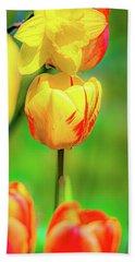 Tulips 2 Beach Towel
